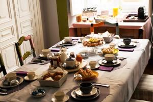 Dettaglio colazione Palazzo Bellini